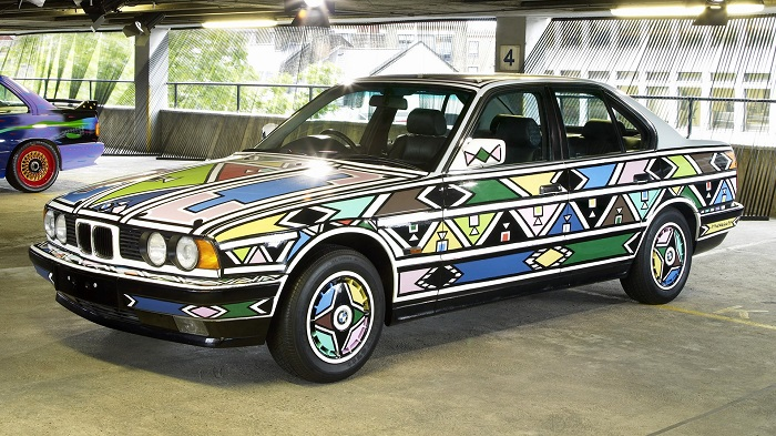 Esther Mahlangu - BMW 525i