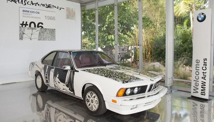 Robert Rauschenberg - BMW 635 CSi