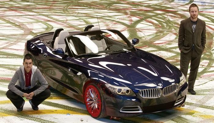 Robin Rhode - BMW Z4