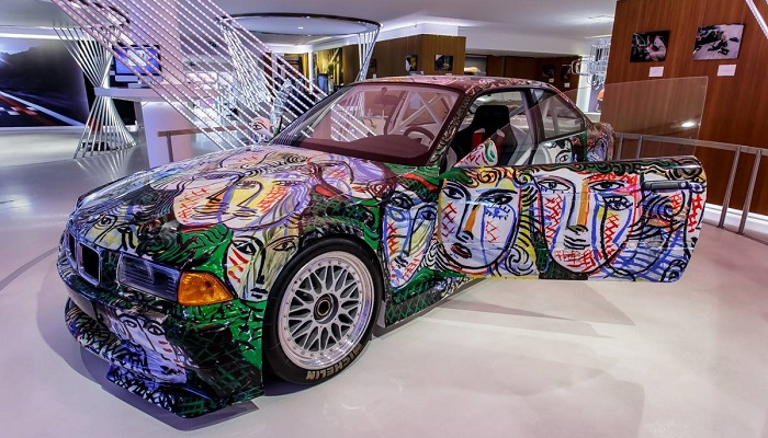 Sandro Chia - BMW M3 GTR