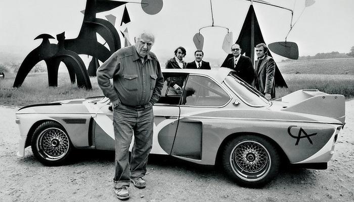Sandy Calder - BMW 3.0 CSL