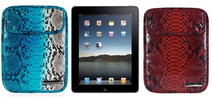 Oscar De La Renta Degrade Phyton iPad Kılıfı