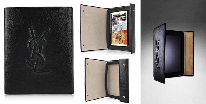 Yves Saint Laurent Patent Leather iPad Kılıfı