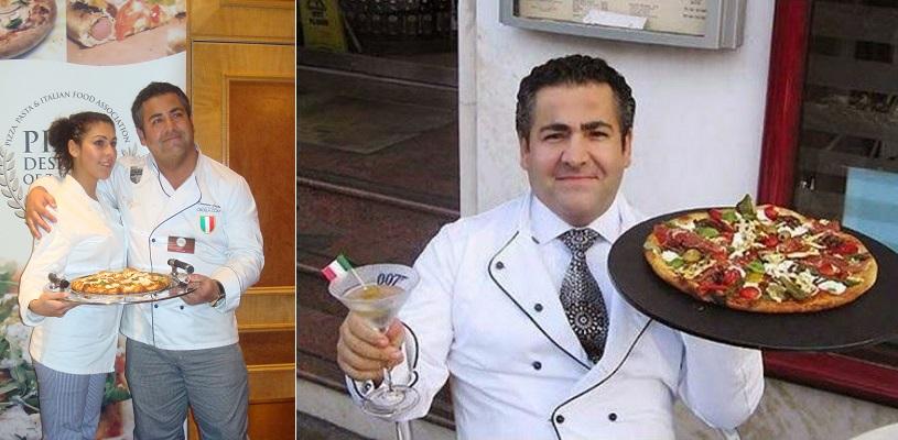 Pizza Royale 007 - Domenico Crolla Restoran