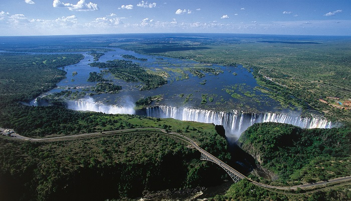 Victoria Şelalesi – Zambiya ve Zimbabwe