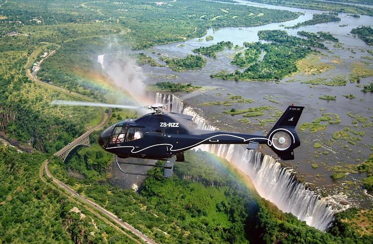 Helikopter Turu için Dünyanın En Güzel 10 Yeri