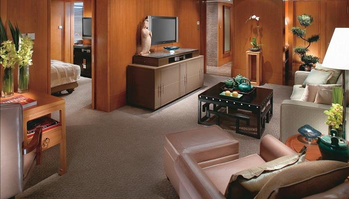 Mandarin Oriental'ın Lüks Süit Odaları - Salon