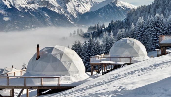 Whitepod Hotel - İsviçre