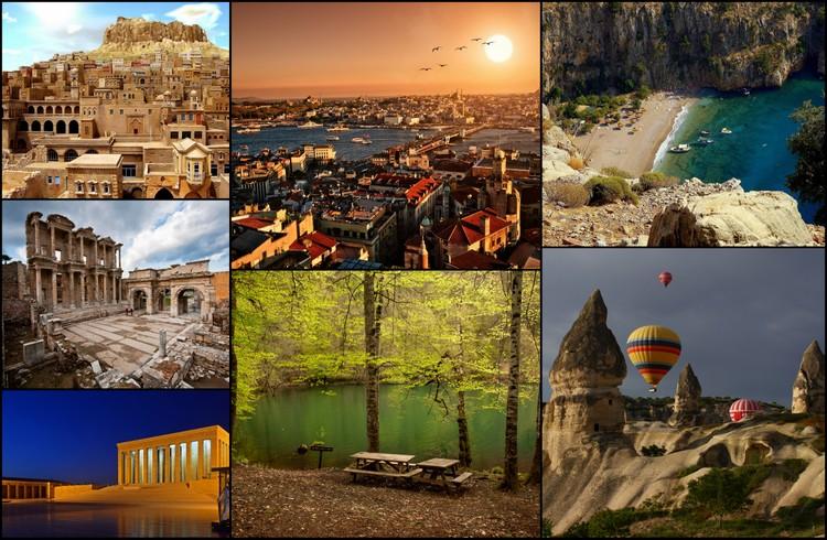 Türkiye'de Ziyaret Edilebilecek En Güzel 10 Yer