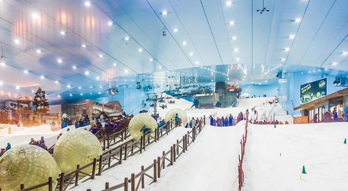 Yılın Her Günü Kayak Yapabilmek
