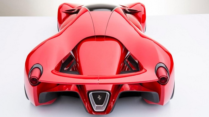 Ferrari F80 Concept Modeli Süper Araba Dünyasına Damga Vuracak