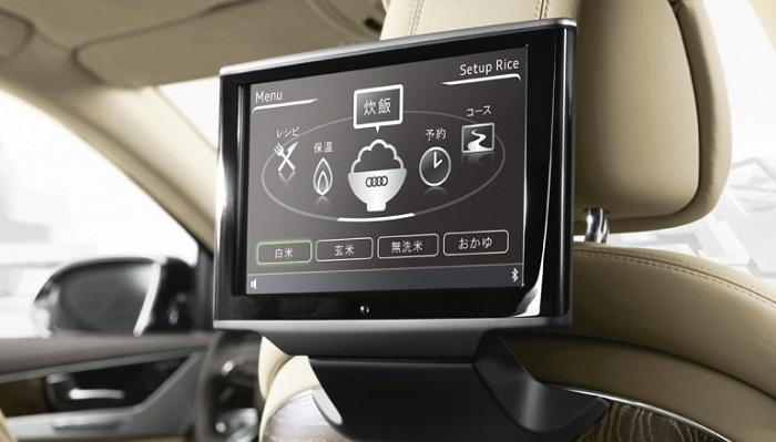 Audi A8 5.5 Modelinde Pişen Yemeklerin Kontrolü Nasıl Sağlanacak?