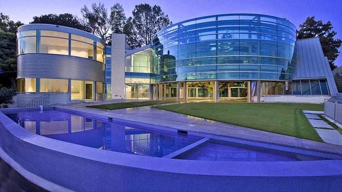 Salad Spinner Glass House - Becerly Hills/Justin Bieber