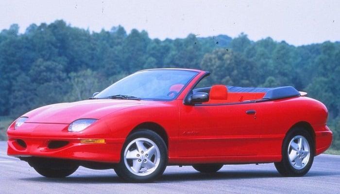 Pontiac Sunfire Convertible