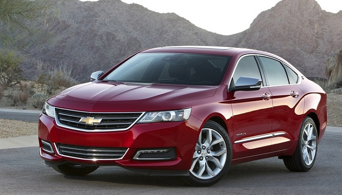 En İyi Üst Sınıf Araba: Chevrolet Impala