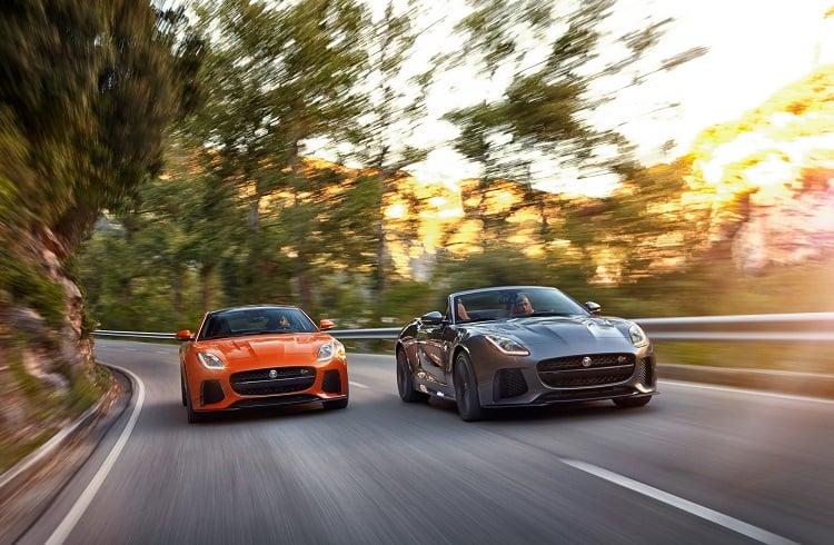 """Gelmiş Geçmiş En Hızlı Jaguar Modeli: """"2017 F-Type SVR"""""""
