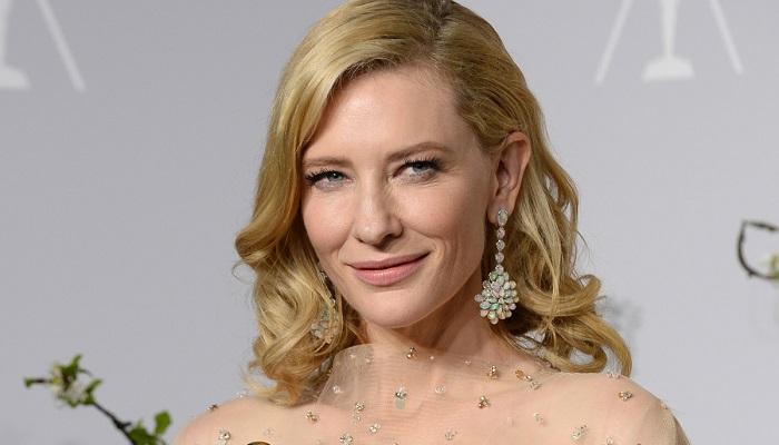 Cate Blanchett - Chopard Pırlanta Küpeler, Bileklik ve Yüzük