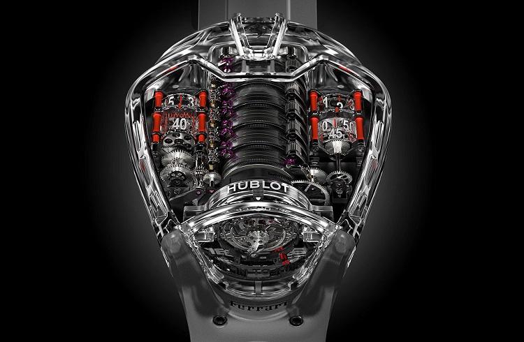 """Hublot ve Ferrari İşbirliğinin Yeni Ürünü: """"MP-05 LaFerrari Sapphire"""""""