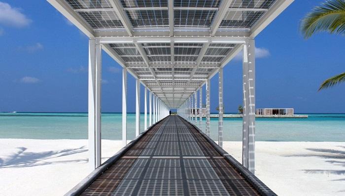 Finolhu Villas Oteli Güneş Enerjisinden Nasıl Yararlanıyor?