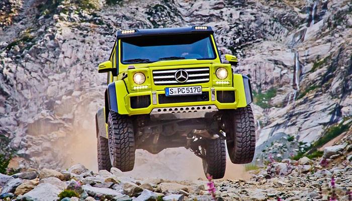 Incredible Hulk - Mercedes G500 4x4