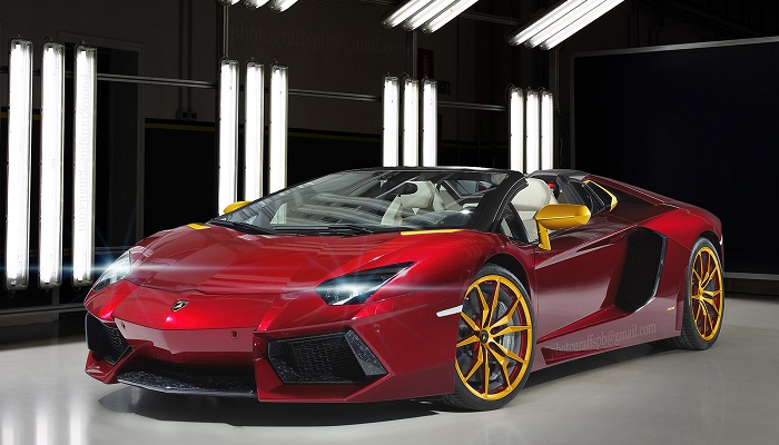 Iron Man - Lamborghini Aventador