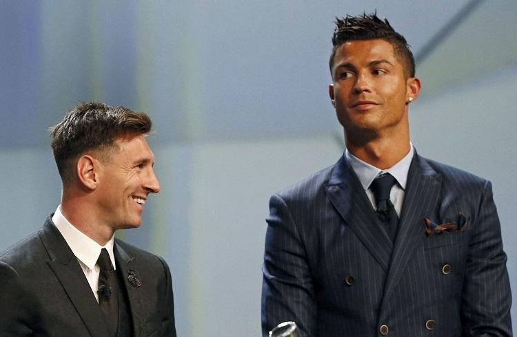 Ronaldo ve Messi Bu Defa Ferrari için Kapıştı!