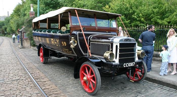 10 1929 Leyland Lion Otobüs Lastikleri