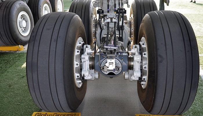 A380 Süper Jumbo Jet Uçak Lastikleri