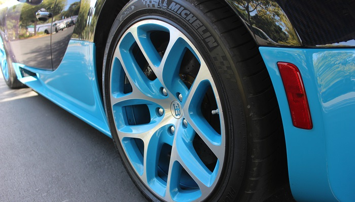 Bugatti Veyron - Michelin Pilot Sport PAX Lastikleri