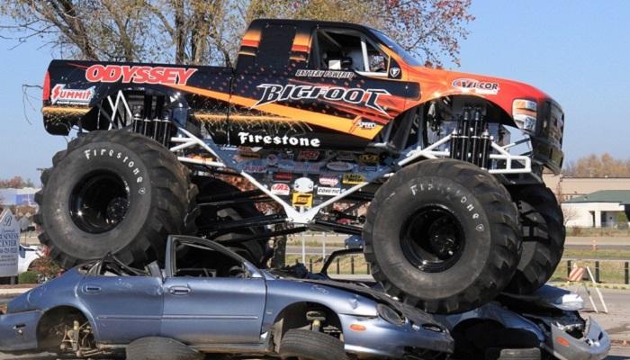Monster Truck - Goodyear ve Firestone Lastikleri