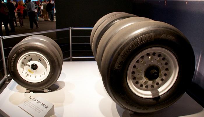 Uzay Mekiği Michelin Lastikleri