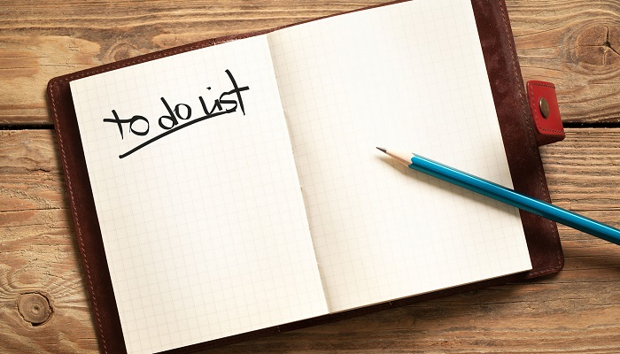 Yapılacaklar Listesi Hazırlayın ve Bu Listeyi Dikkat Çekici Hale Getirin