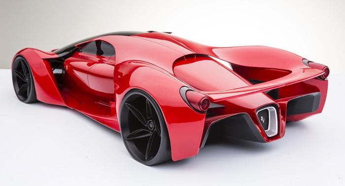 Yeni Ferrari F80 Consept Modeli Enfes Bir Görünüme Sahip
