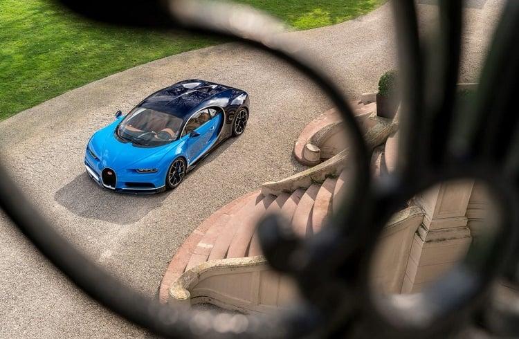 """1500 Beygir ile Dünyanın En Güçlü ve Hızlı Arabası: """"2018 Bugatti Chiron"""""""