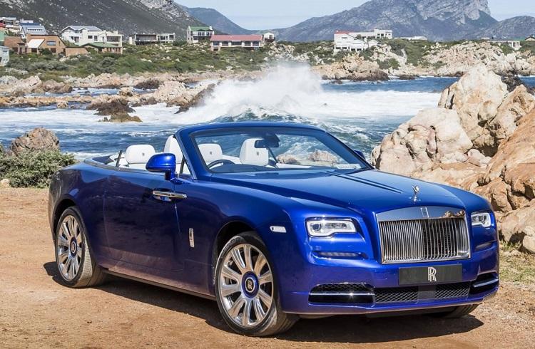 """2016'nın En İyi Lüks Otomobili Seçilen: """"Rolls Royce Dawn"""""""