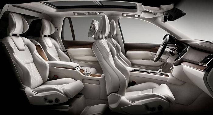 2017 Volvo XC90 Excellence İç ve Dış Mekan Tasarımı