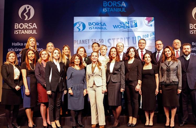 8 Mart'ta Borsa Gongu Kadın Erkek Eşitliği için Çalacak
