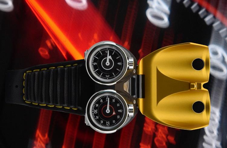 "Otomobil Tutkunlarının Bayılacağı Eşsiz Saat: ""Azimuth Twin Turbo"""