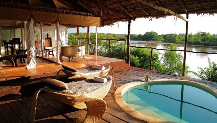 Bir Afrika Rüyası Olan Retreat Selous Otelinin Konumu