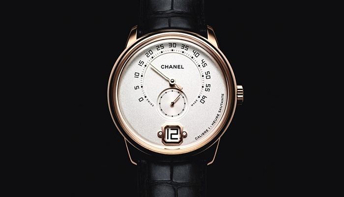 Chanel Tarafından Üretilen Tamamı El Yapımı İlk Erkek Saati