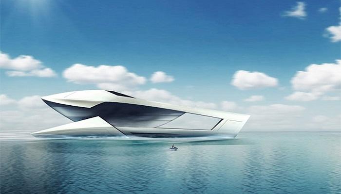 Denizlerin Yeni Hakimi Sea Level CF8 Future Concept Süper Yatının Tasarımı