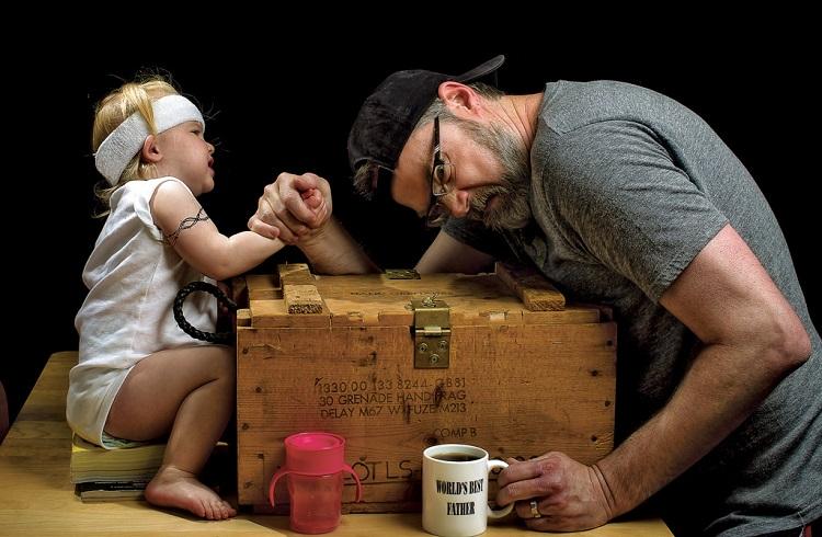 Dünyanın En İyi Babasına Sahip Olduğunuzun 10 Açık İşareti