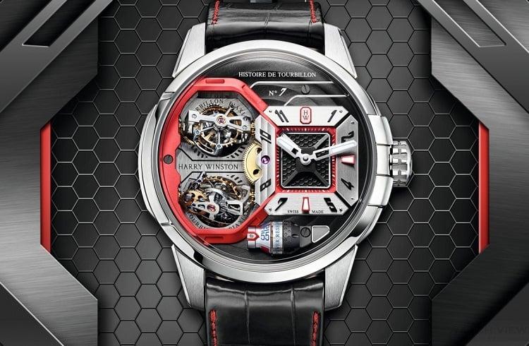 Dünyanın En Değerli Mücevher Markası Harry Winston'dan Şık Saat