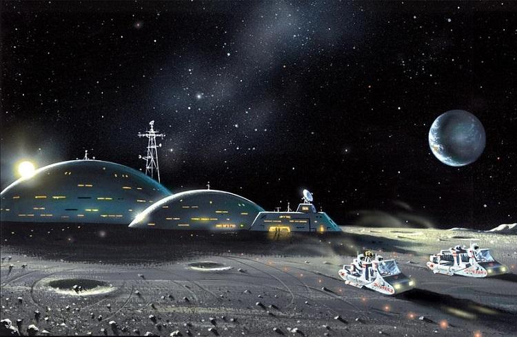 """ESA için Küçük İnsanlık için Dev Bir Adım: """"Ay Köyü"""""""