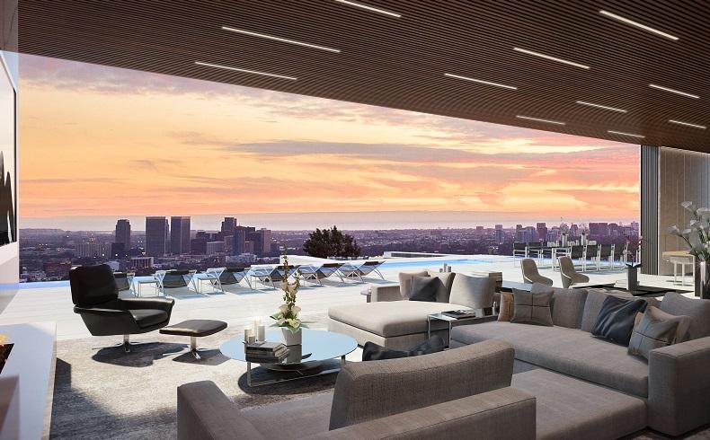 """Tasarımıyla Dikkat Çeken Yüzen Malikane: """"Beverly Hills Billionaires Row"""""""