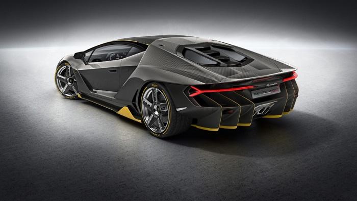 Lamborghini Centenario Modelinin Tasarımı