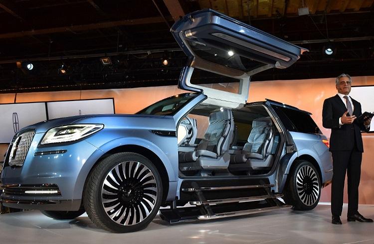 "Martı Kapılı İlk SUV: ""2018 Lincoln Navigator Concept"""