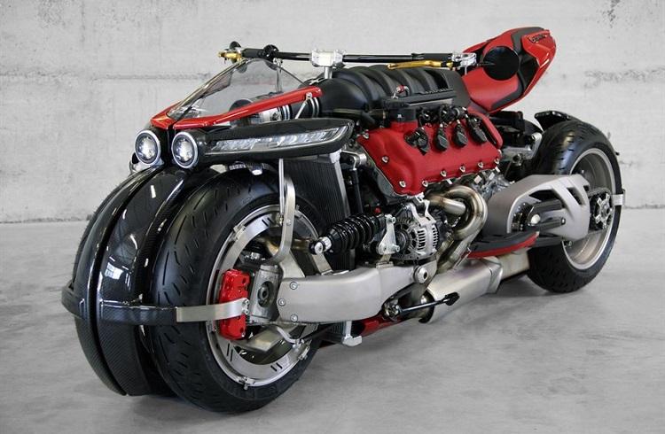"""Maserati Motoruna Sahip Yer Uçağı: """"Lazareth LM 847"""""""