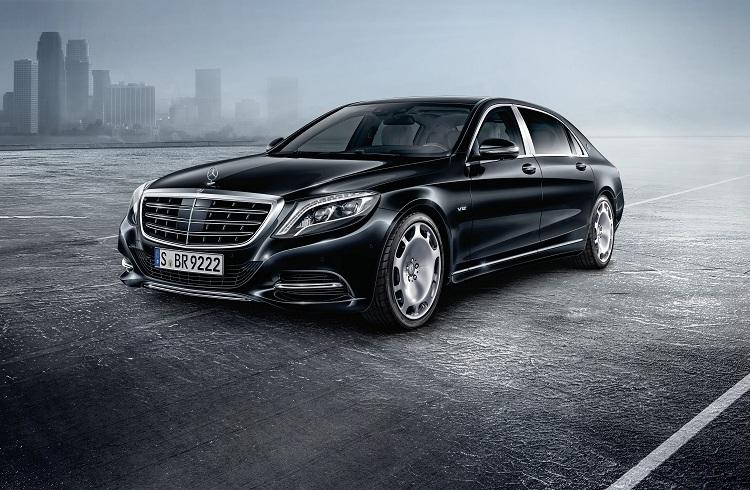 "Mercedes ve Maybach Ortaklığı Yürüyen Kale: ""2017 S600 Guard"""