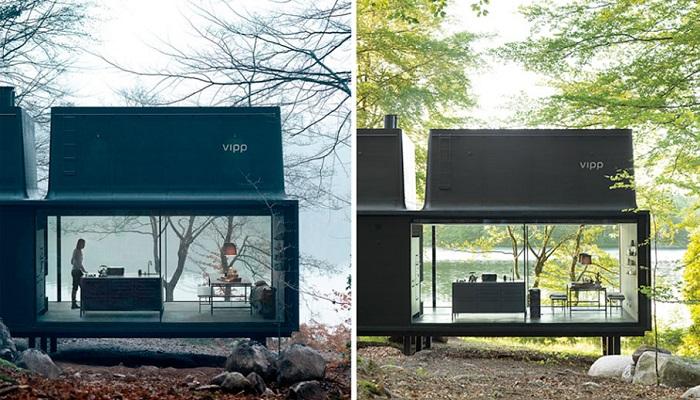 Oldukça Dayanıklı ve Lüks Bir Sığınak Olan Vipp Shelter'in Tasarımı